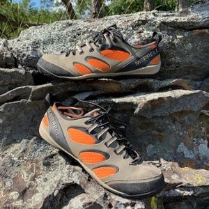 Merrell True Glove brindle/harvest pumpkin shoes